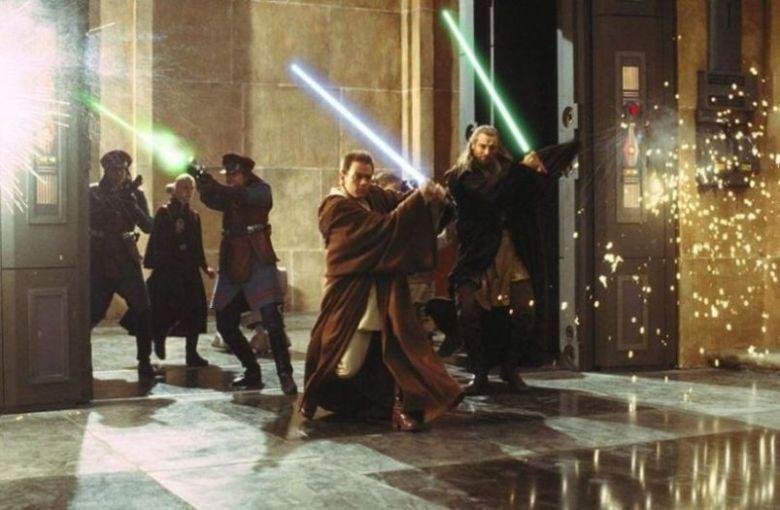 Star Wars Episodio I - La minaccia fantasma frasi, citazioni e dialoghi di George Lucas con Liam Neeson, Ewan McGregor, Natalie Portman, Jake Lloyd, cavalieri Jedi
