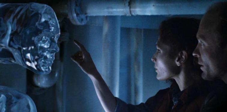 Le riprese di The Abyss sono state difficili per gli attori, Ed Harris, Mary Elizabeth Mastrantonio, James Cameron