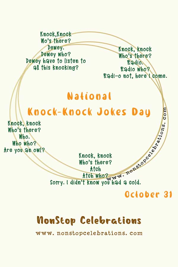 creative knock knock jokes