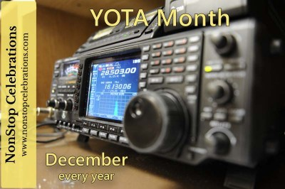 December is Youngsters On the Air Month / YOTA Month