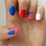 NOTD: American Flag nails!