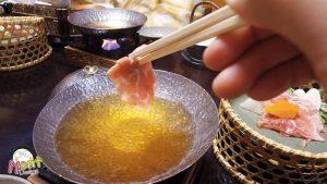 ไคเซกิในห้อง [In-Room Dining] Kaiseki Course Dinner with Koshu Wine Pork Shabu-Shabu Plan