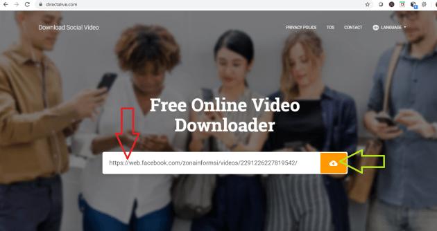 Download Video Facebook di Group dan Fans Page Kualitas HD