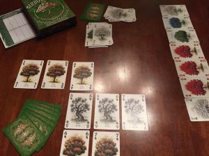 A sample arboretum. Note: this wasn't a finished game at the time