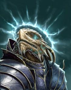 Chaotic Good Dragonborn Paladin