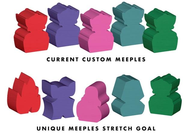 Campy Creatures Meeples
