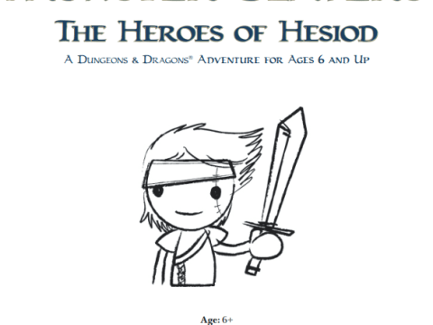 Monster Slayers: Heroes of Hesiod is available for free on Wizards of the Coast or DriveThruRPG