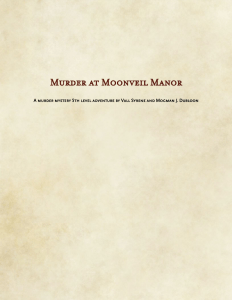 Murder at Moonveil Manor