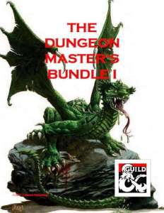 The Dungeon Master's Bundle I