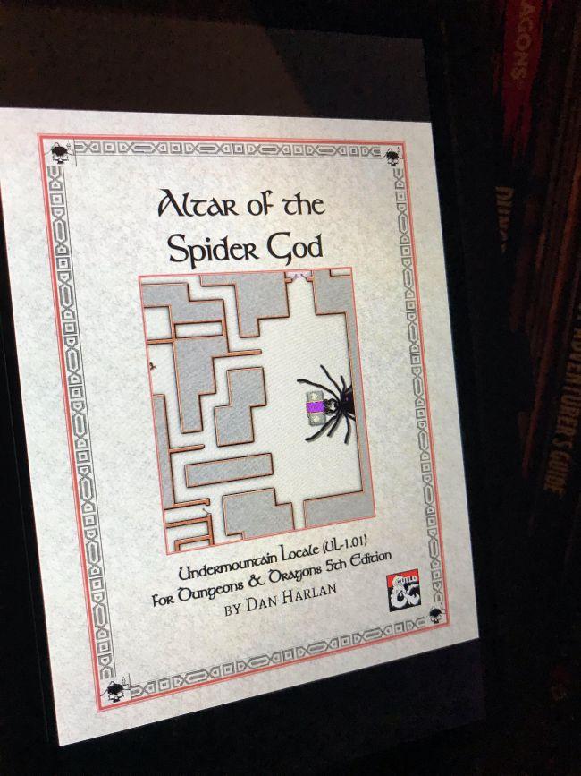 Altar of the Spider God