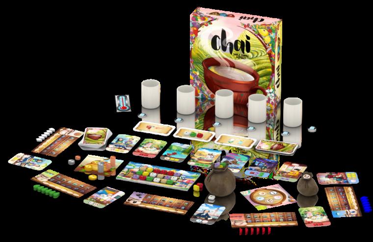 Chai by Dan & Connie Kazmaier of Deep Aqua Games
