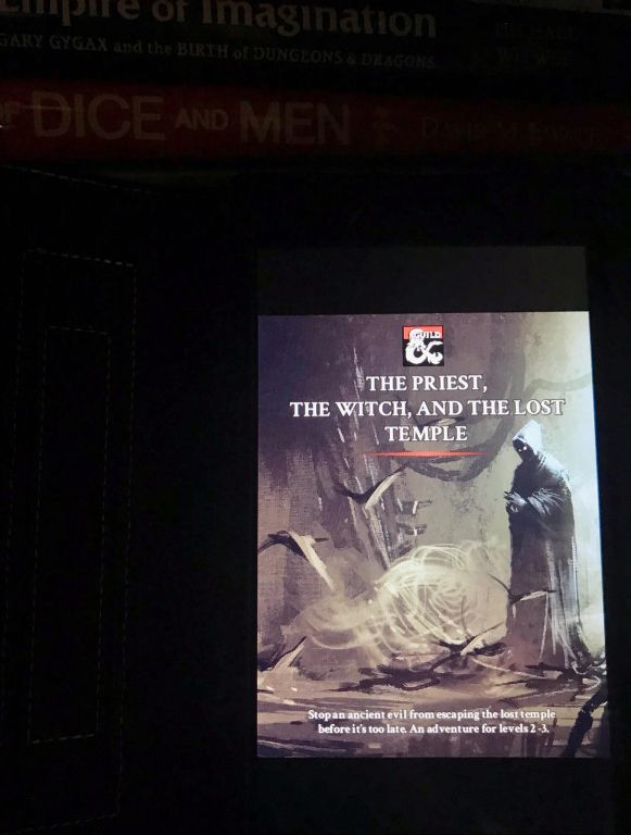 The Priest the Witch and the Lost Temple by David McDonough as published on DMs Guild
