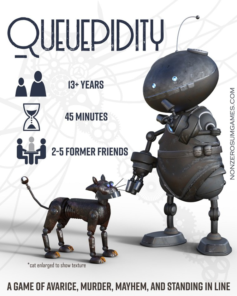 Queuepidity by NZS Games