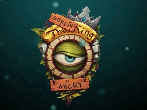 The Goblin King is Angry Logo