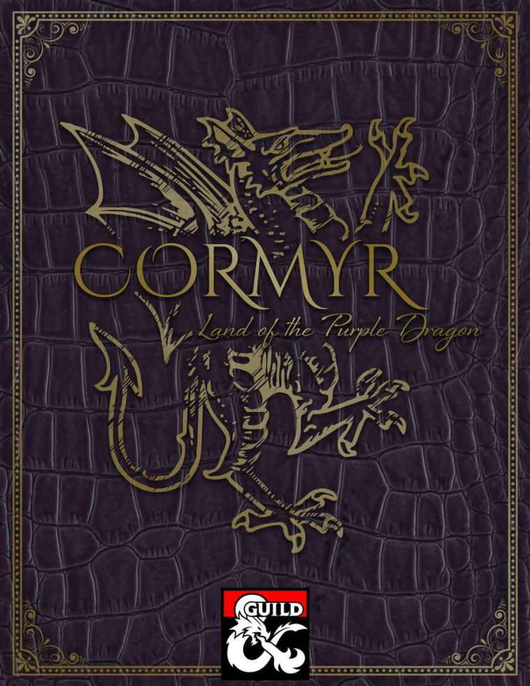 Cormyr Land of the Purple Dragon