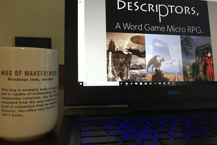 DeScriptors: A Word Game Micro RPG