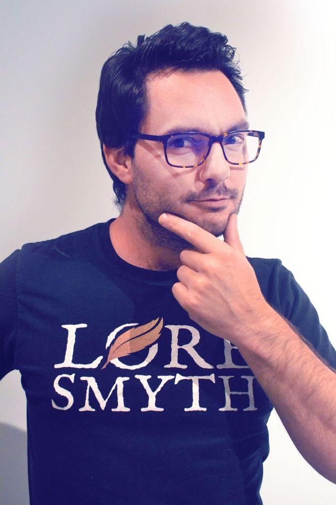 Chris Van Der Linden of Loresmyth