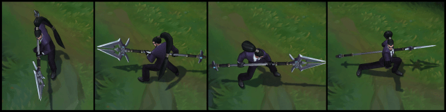 Secret Agent Xin Zhao Poses