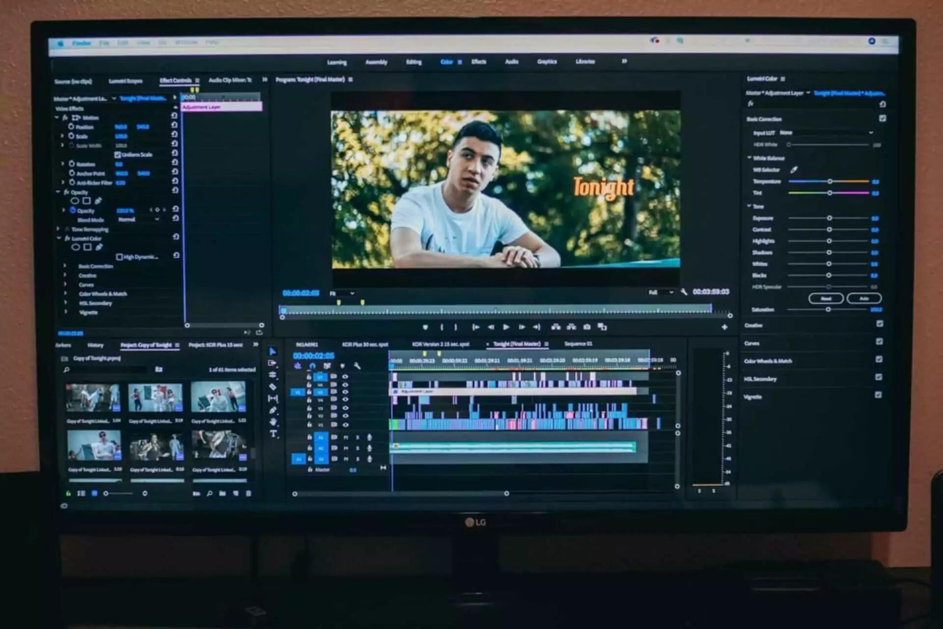 software edit video terbaik di linux