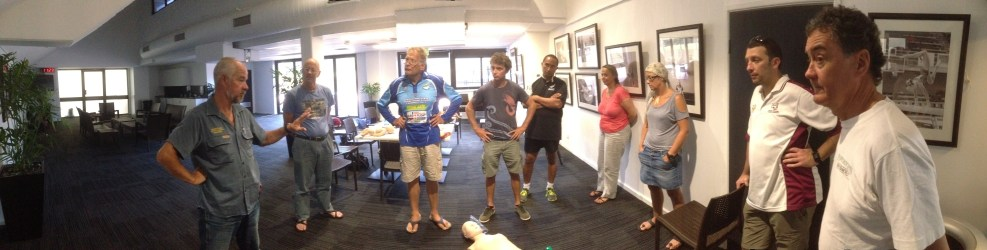 As provided by Australian Underwater Federation. First Aid and Radio Operators Course