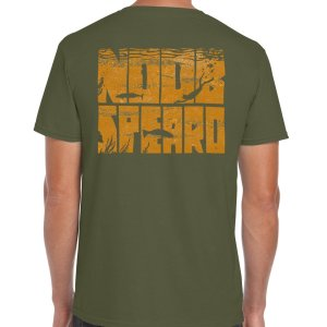 Military Green Noob Spearo T-Shirt