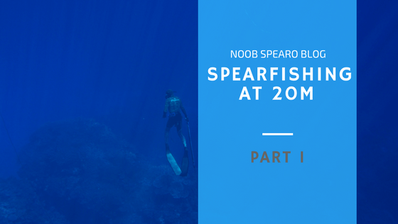 Spearfishing at 20 metres – Part 1