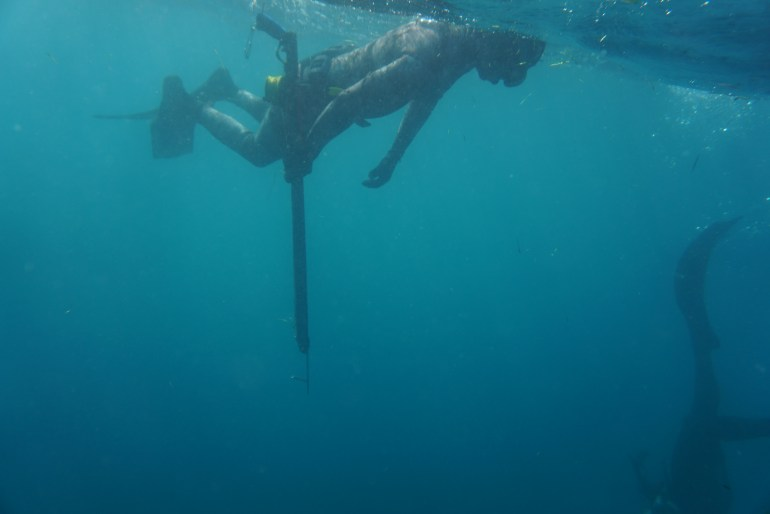 One up one down is the cornerstone of good buddy diving. Spearfishing Buddy Protocol