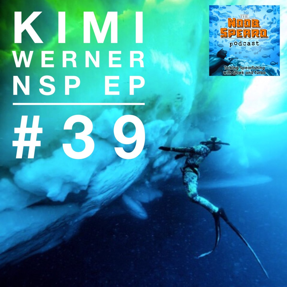 Kimi Werner Ice Diving in the Arctic. Image Credit Perrin James