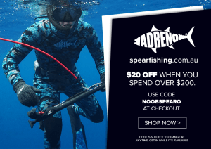 Noob Spearo. spearfishing.com.au discount code