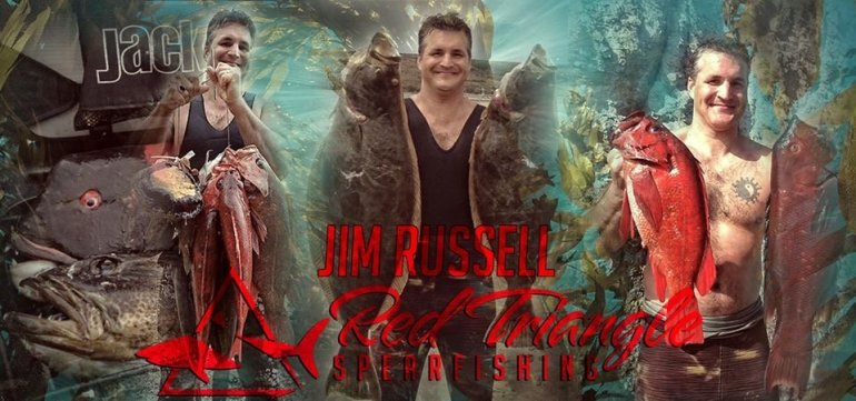 Red Triangle Spearfishing Jim Russell on the Noob Spearo Podcast