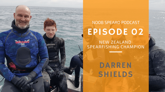 NSP:002 Darren Shields 6 Time New Zealand Spearfishing Champion