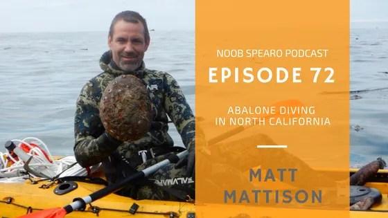 North California Underwater Hunters President Matt Mattison
