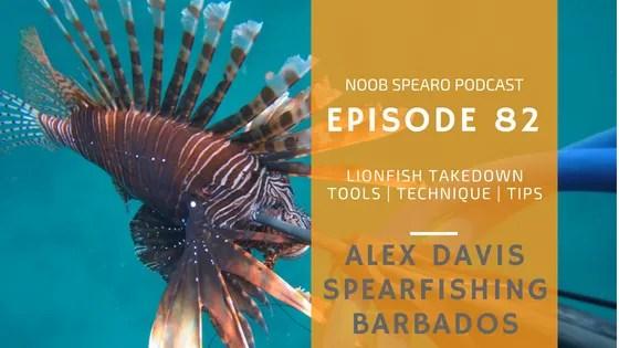NSP:082 Alex Davis Spearfishing Barbados