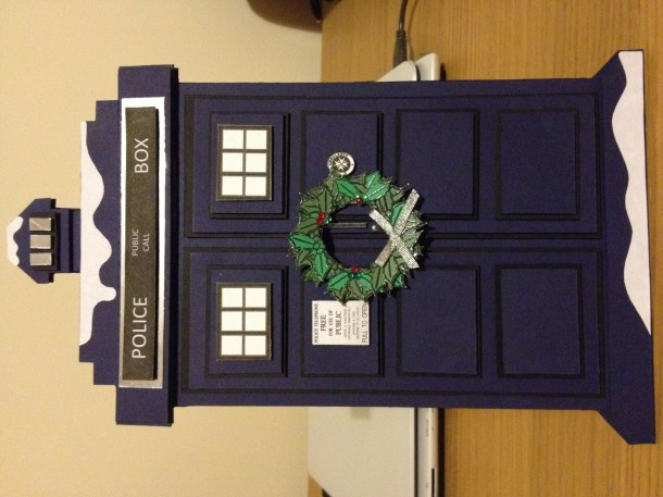 Doctor Who Christmas Tardis