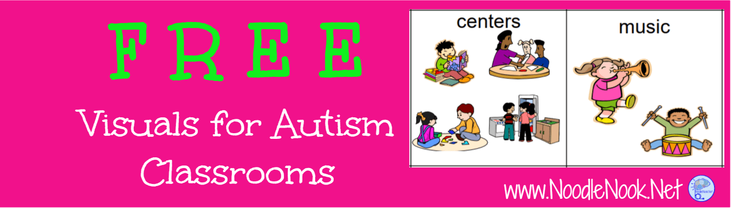 image relating to Visual Cue Cards Printable named Cost-free Visible Supports for Pupils with Autism NoodleNook.World-wide-web
