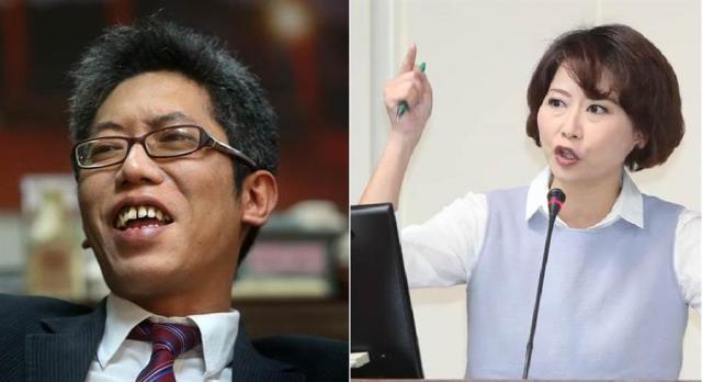 前總統府發言人丁允恭(左)、民進黨立委 陳亭妃(右)。(圖/合成圖,報系資料照)
