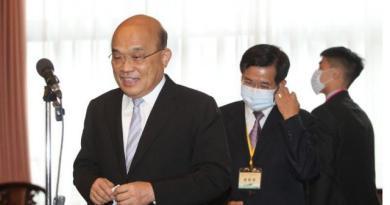 行政院長蘇貞昌(左)。 記者邱德祥/攝影