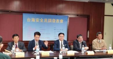 台灣國際戰略學會及台灣國際研究學會今天發布最新民調。記者徐偉真/攝影