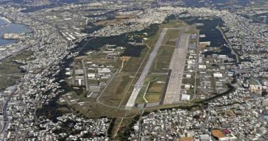 駐紮沖繩的美軍近日接連犯案14起,引發沖繩縣政府與美軍基地所在地方政府強烈憤怒。圖為沖繩美軍基地。 美聯社