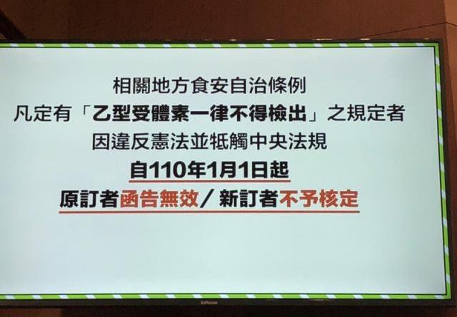 行政院宣布萊豬政策中央地方統一規範與原則。記者賴于榛/攝影