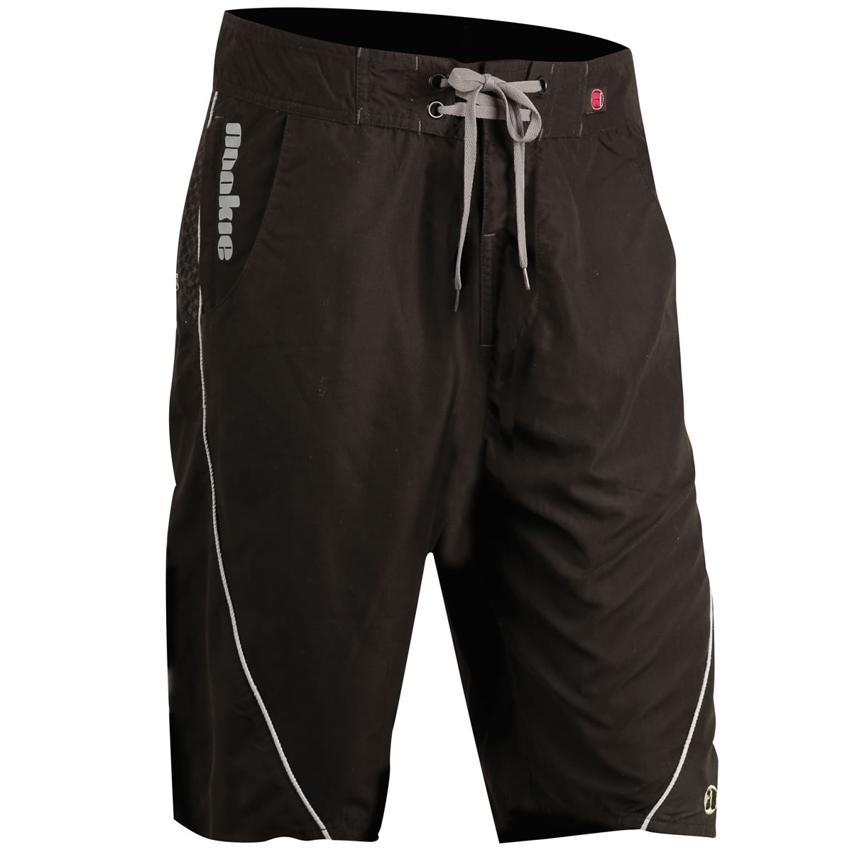 875471273a Boardies in Black with Grey Trim & Detail -Nookie Board Shorts for River  Sea & Surf