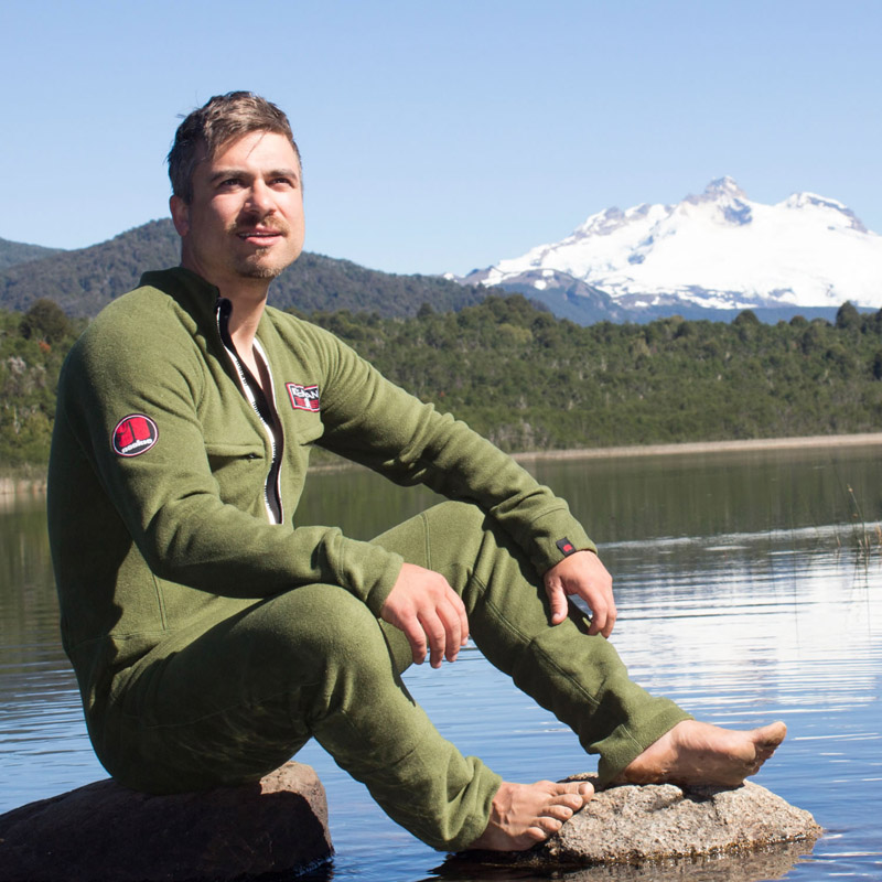 Nookie Iceman All-In-One Thermal Suit Lifestyle