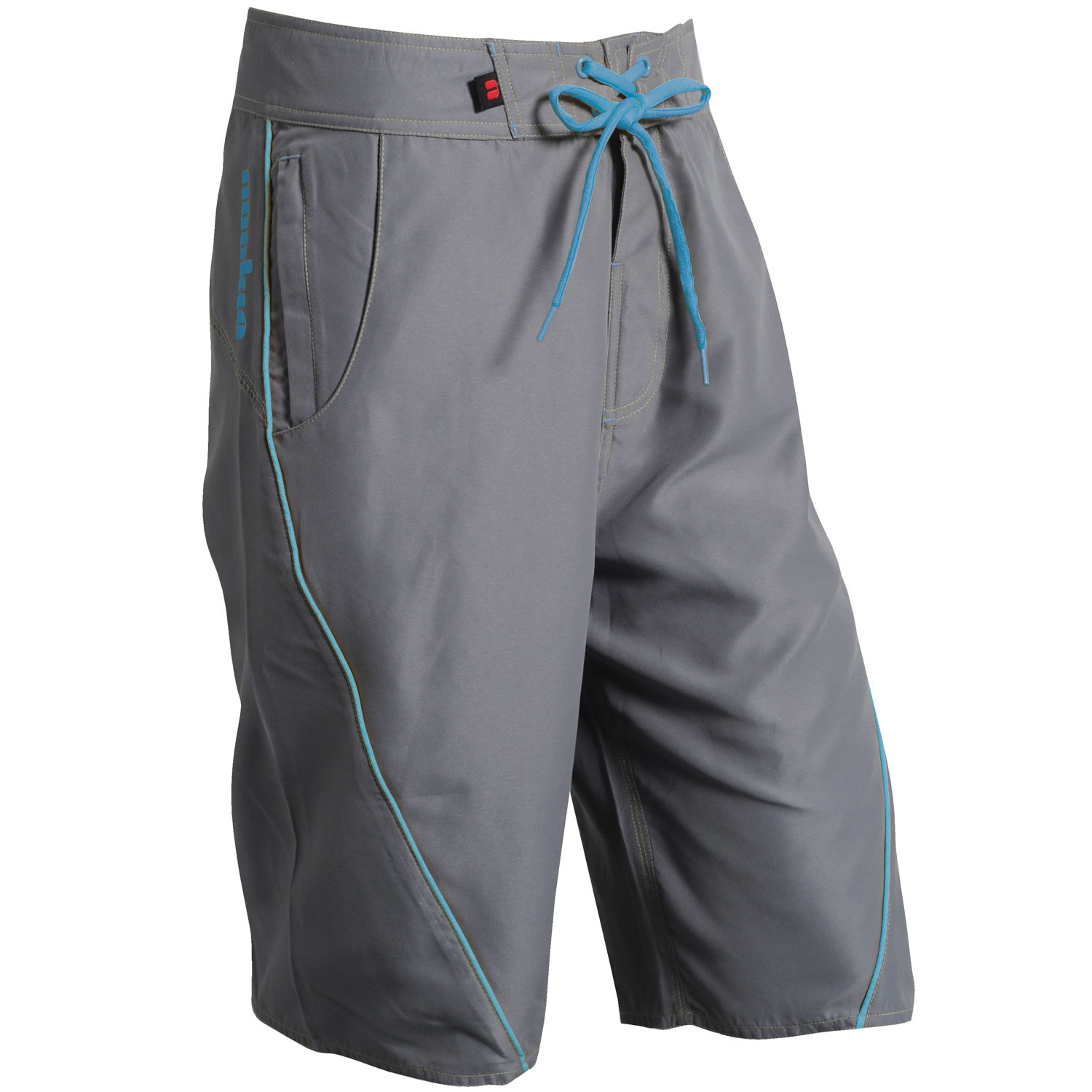 Nookie Board Shorts Grey/Blue