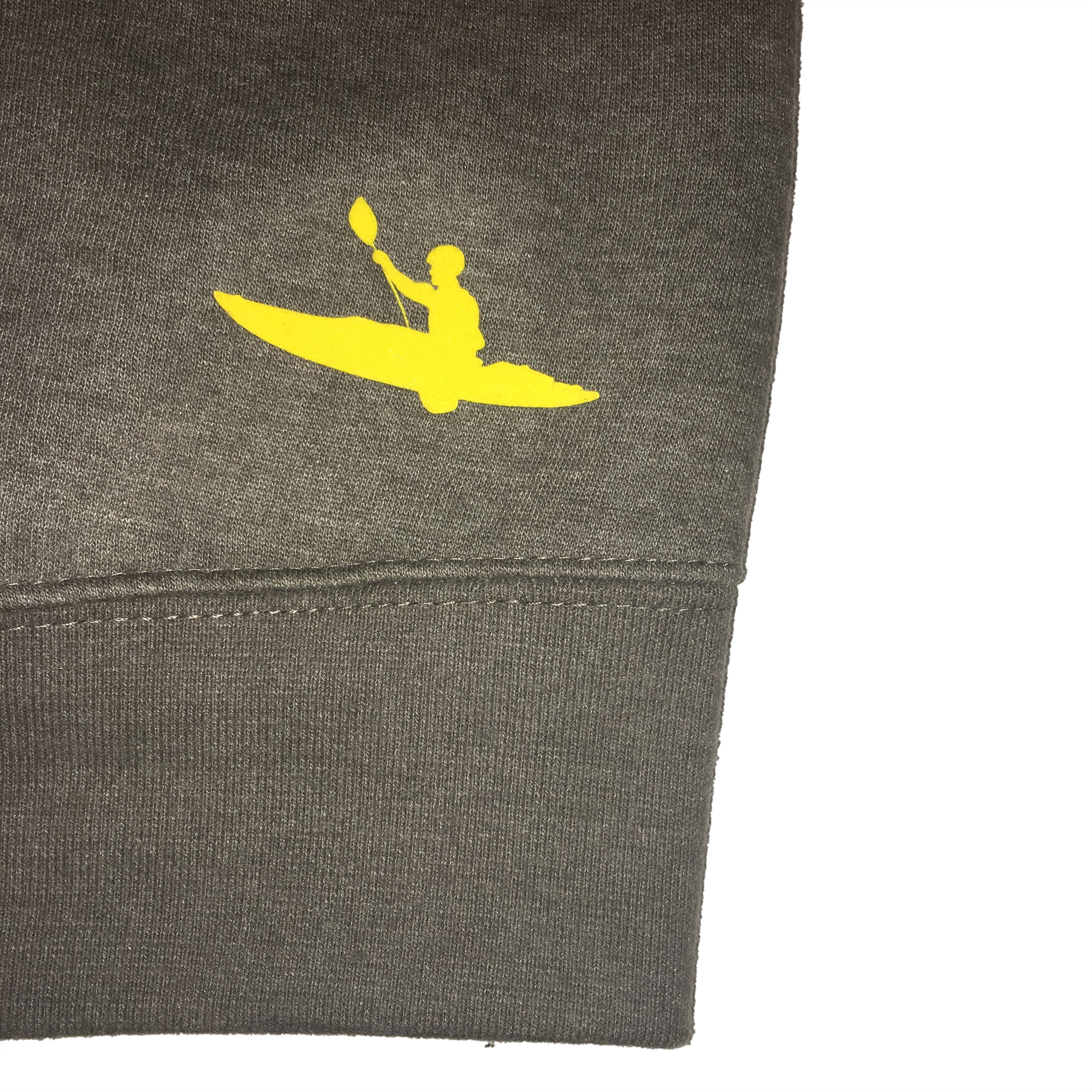 Kayaker Icon on rear hemline