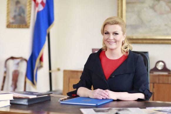 Meet The Sexiest President In The World  – Kolinda Grabar- Kitarović Croatian President