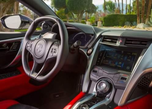 2018 Acura NSX technology