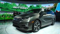 2018 Honda Odyssey price