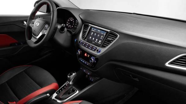 2018 Hyundai i20 interior