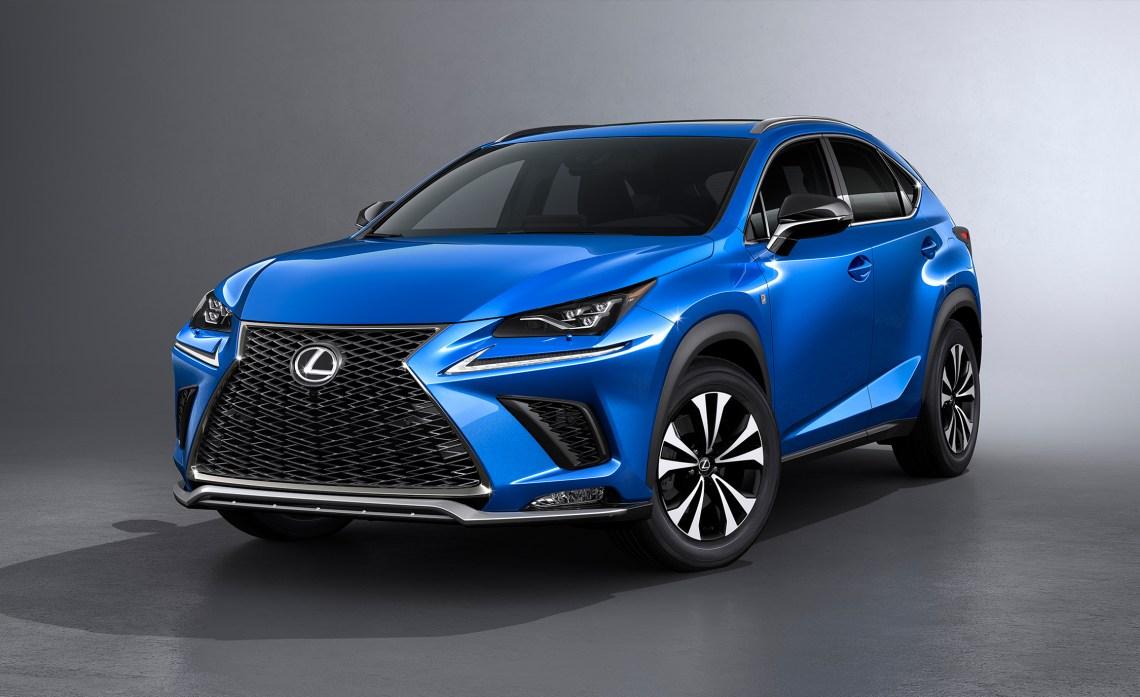 2018 Lexus NX price