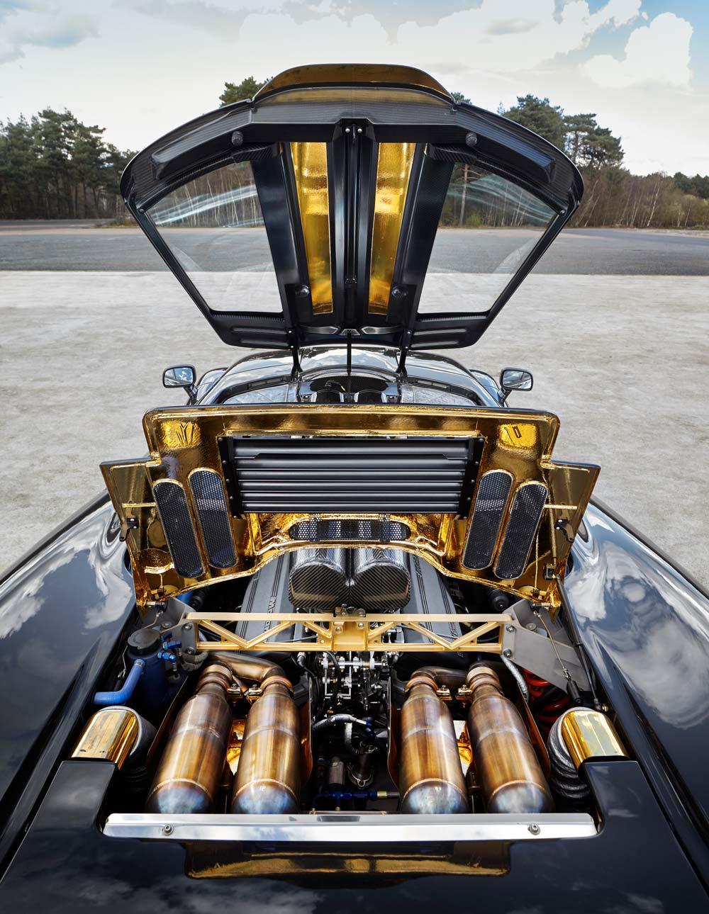 2018 McLaren F1 engine